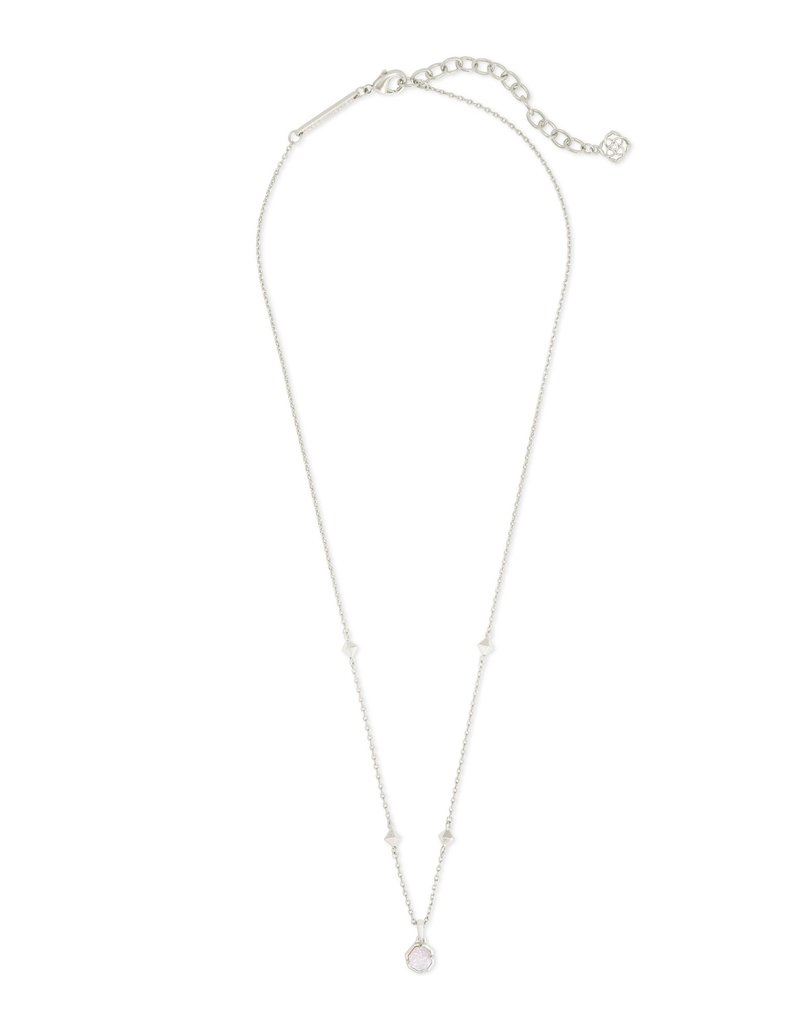 KENDRA SCOTT Nola Silver Short Pendant Necklace