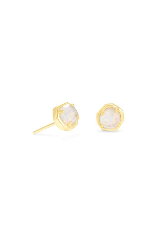 KENDRA SCOTT Nola Gold Stud Earrings