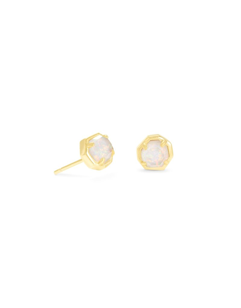 KENDRA SCOTT Nola Gold Stud Earrings