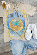 RECYCLED KARMA Journey Generations-Old Lace Tee