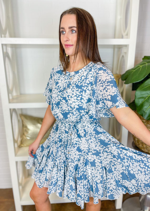 BY TOGETHER Alex Chiffon Short Dress