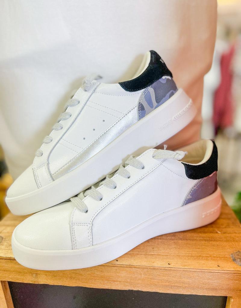 VINTAGE HAVANA Nava White Camo Sneaker