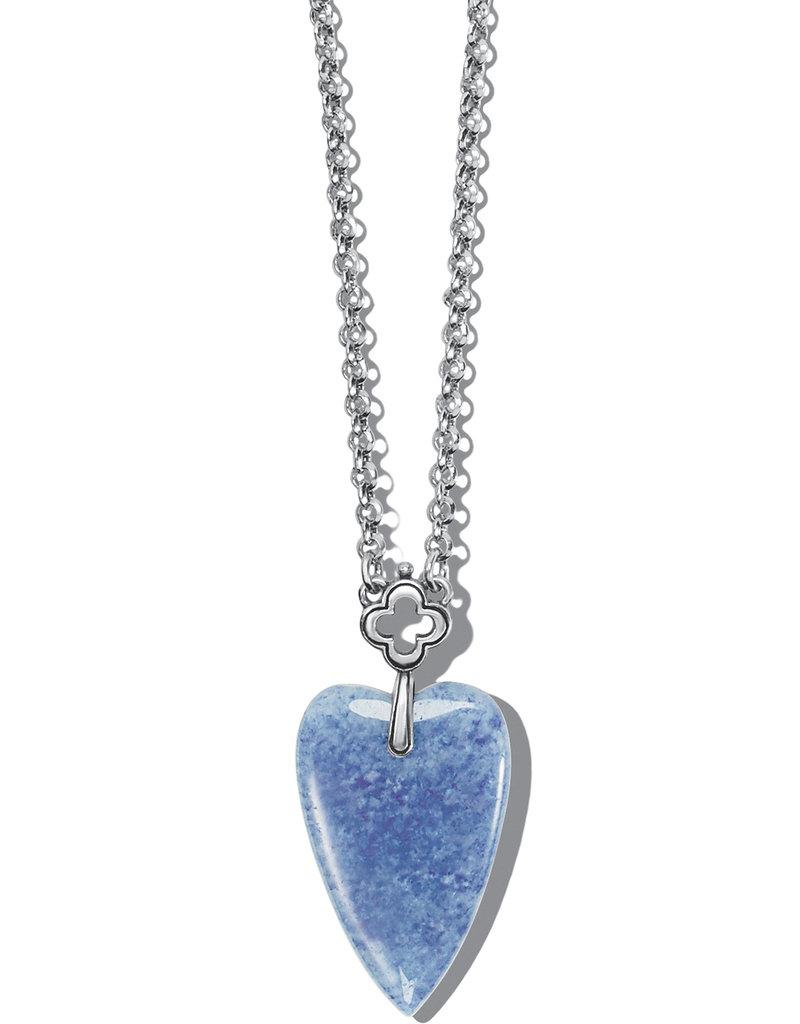 Toledo With Love Blue Quartz Necklace