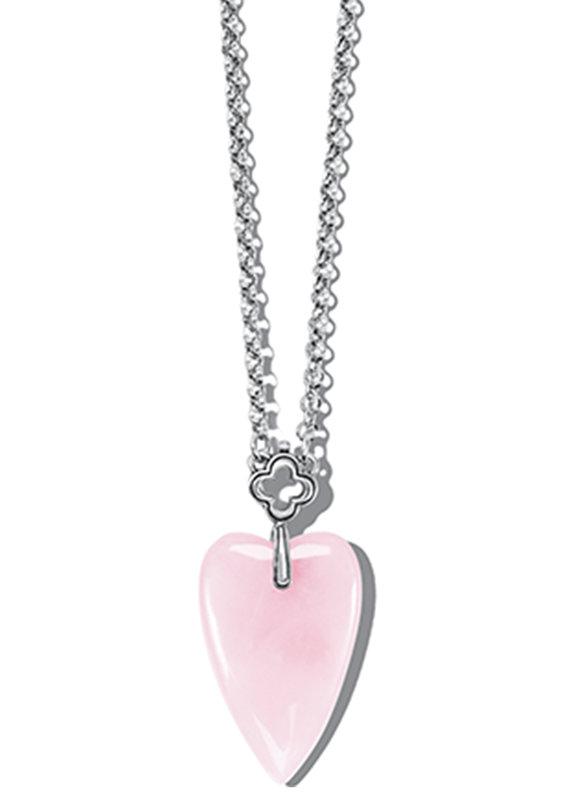 Toledo With Love Rose Quartz Necklace