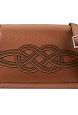 Emmy Flap Bag Bourbon