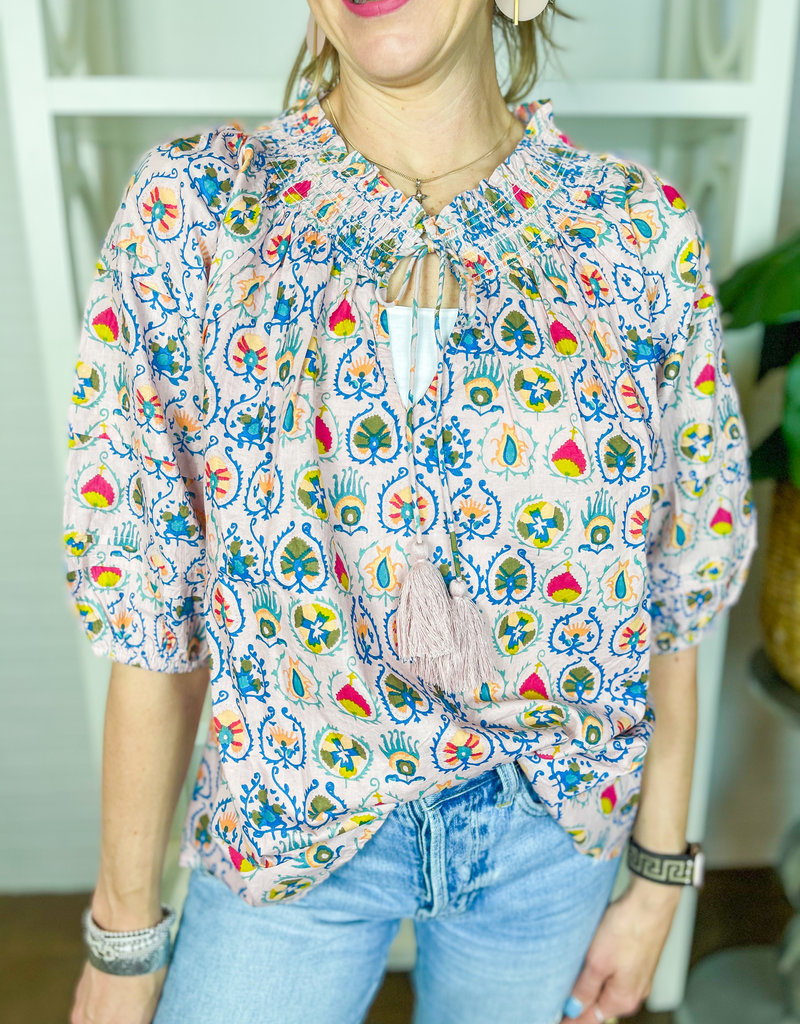 IVY JANE Blushing Color Top