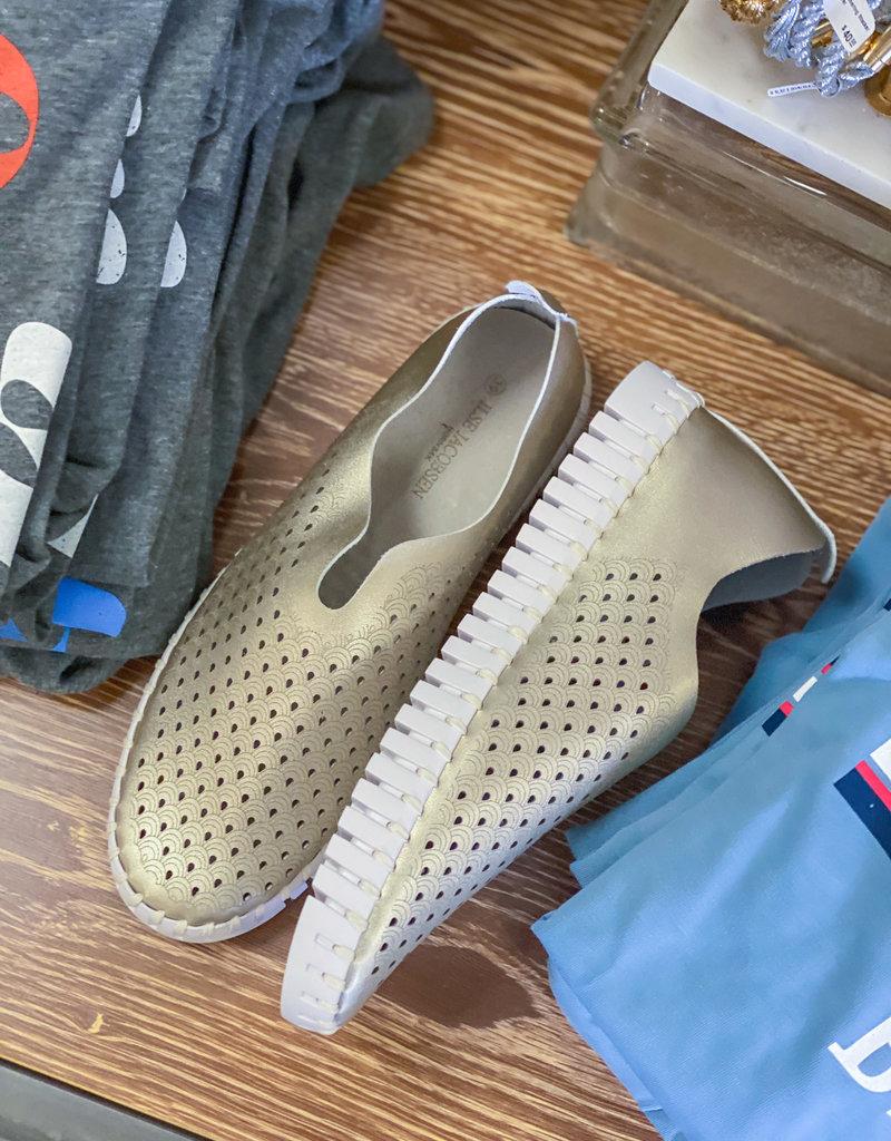 ISLE JACOBSON Tulip Platin Sneakers