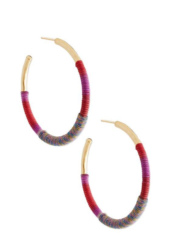 KENDRA SCOTT Masie Hoop Earring