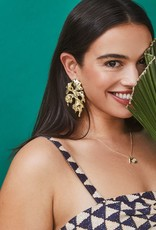 KENDRA SCOTT Savannah Metal Statement Earrings