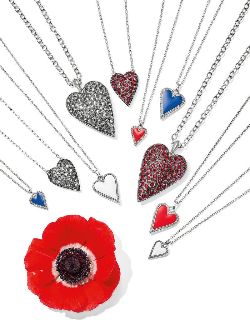Dazzling Love Blue Necklace