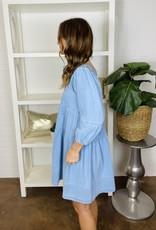 SAINTS & HEARTS Country Girl Babydoll Dress