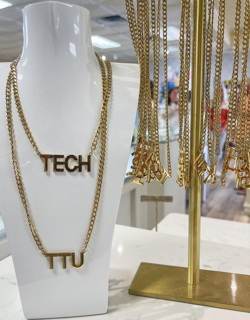 HOO TTU Bold Necklace