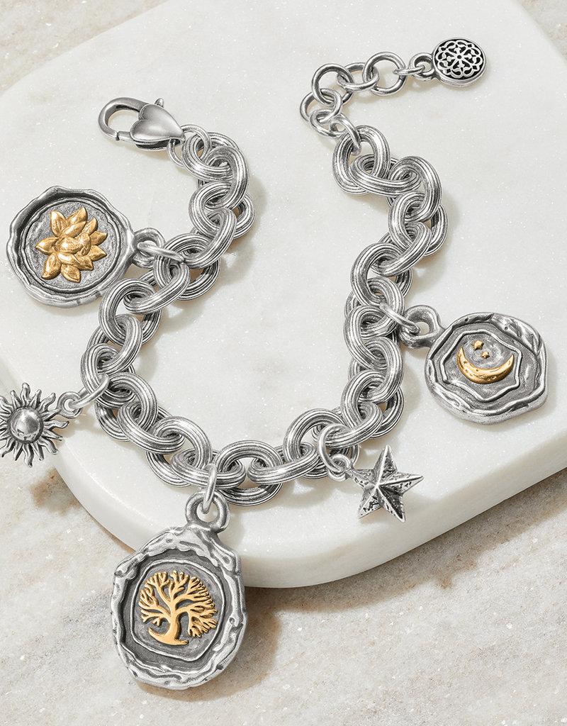 Ferrara Virtue Charm Bracelet