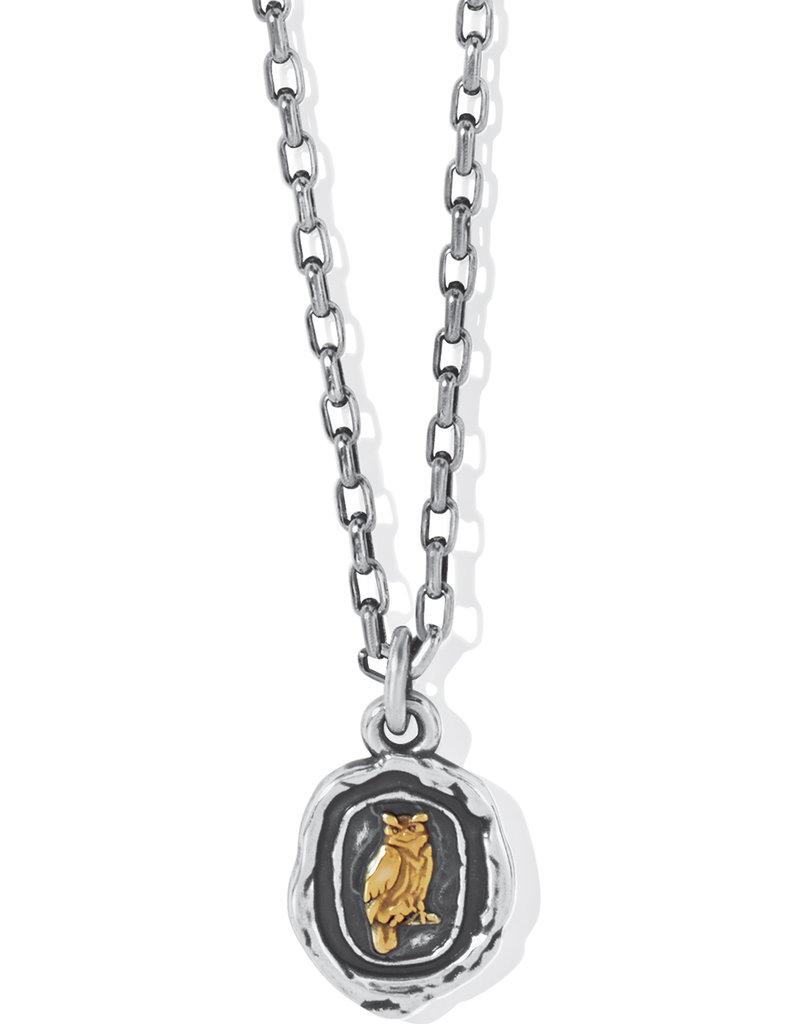 Ferrara Virtue Owl Pendant Necklace