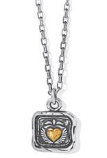 Ferrara Virtue Winged Heart Necklace