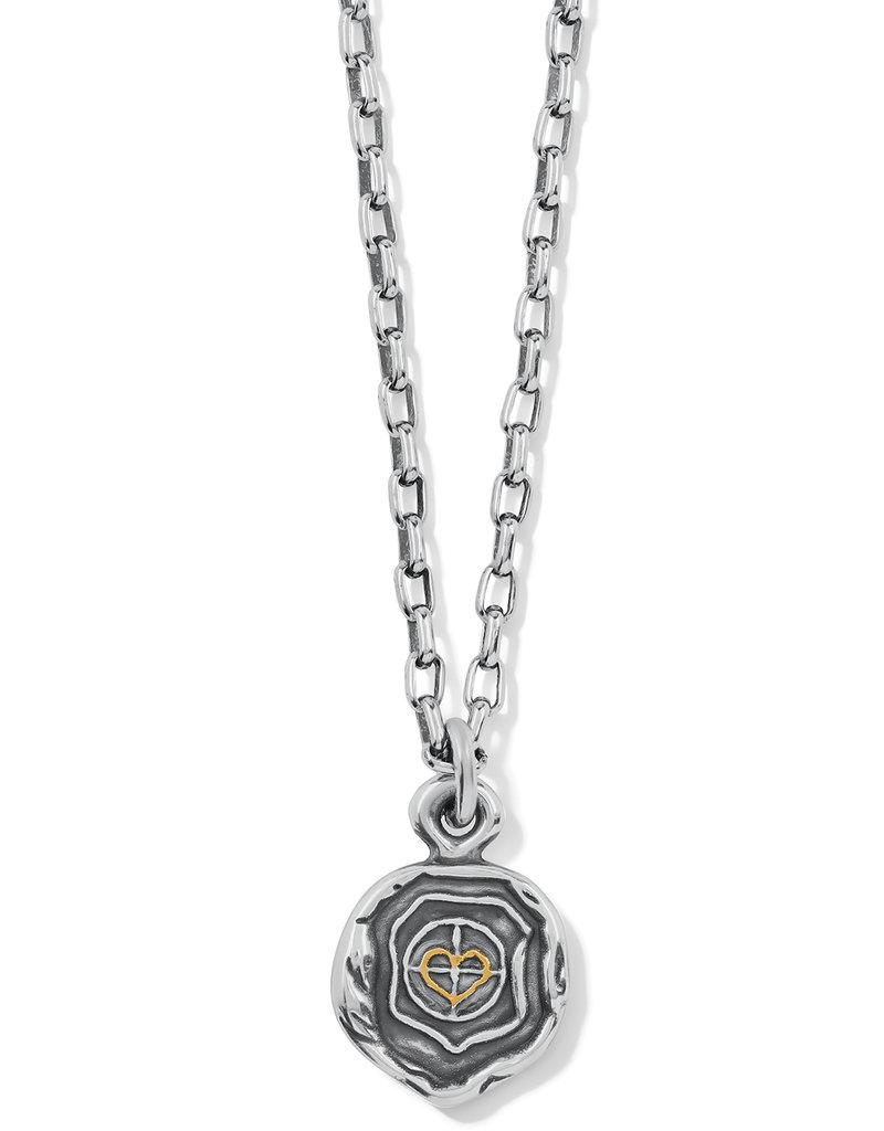 Ferrara Virtue Crescent Moon Necklace