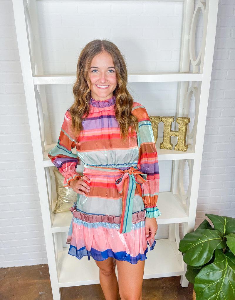 BEULAH Retro Vibes Dress