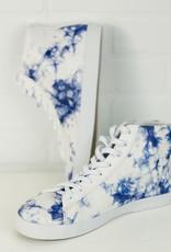 OFF THE BEATEN PATH Hologram Hi-Top Sneakers