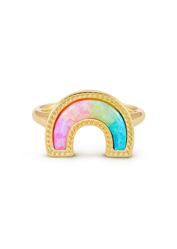KENDRA SCOTT Rainbow Band Ring