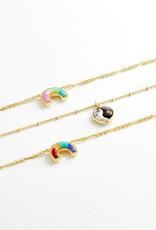 KENDRA SCOTT Yin Yang Pendant Necklace