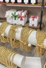 CATHERINE CANINO JEWELRY Stay Goldy Stretch Bracelet Set