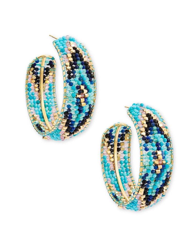KENDRA SCOTT Britt Hoop Earrings