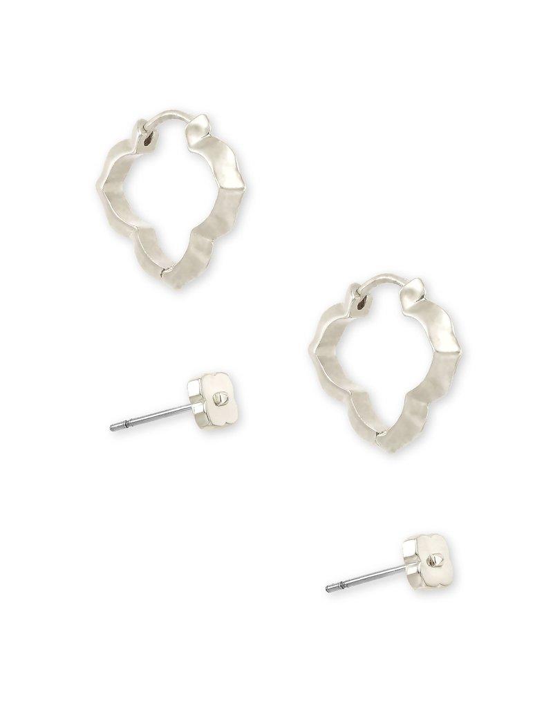 KENDRA SCOTT Abbie Stud/Huggie Earring Set