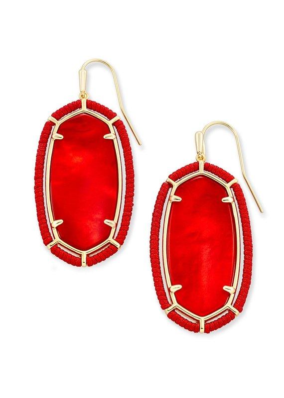 KENDRA SCOTT Threaded Elle Drop Earrings