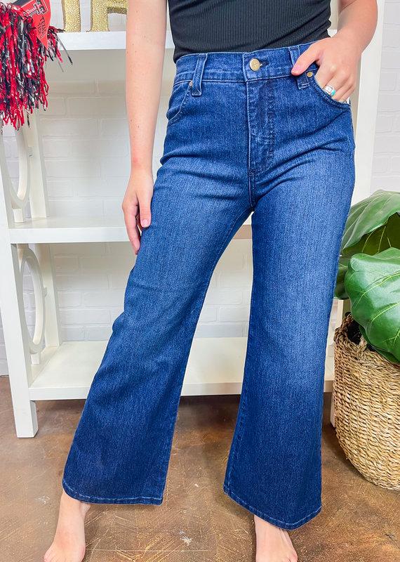 KAREN KANE Lifestyle Wide Leg Jeans