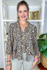 JADE The Cheetah The Bettah Blouse