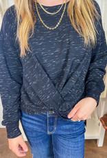 FIFTEEN TWENTY Twist Front Sweatshirt
