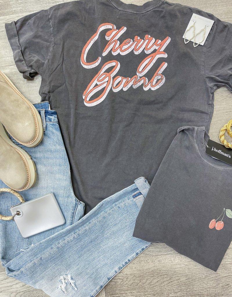 GIRL DANGEROFR Cherry Bomb Boyfriend Tee