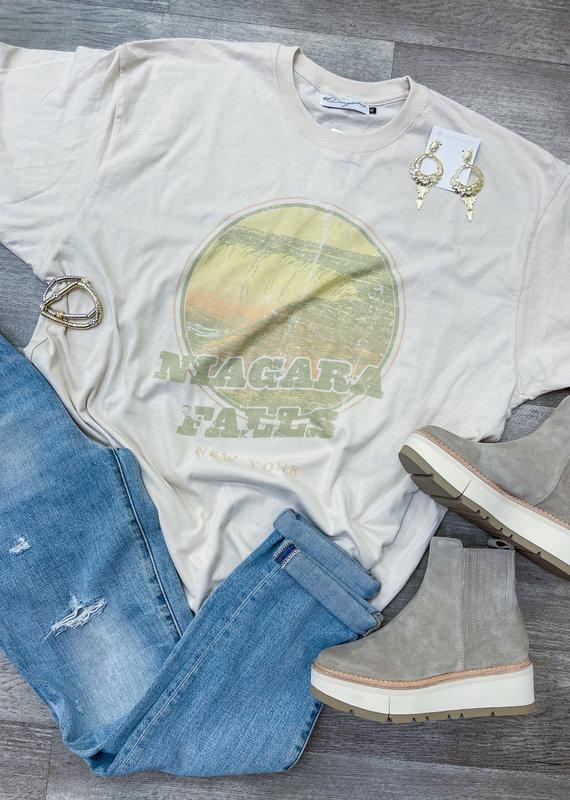 GIRL DANGEROFR Niagara Falls T-Shirt Dress