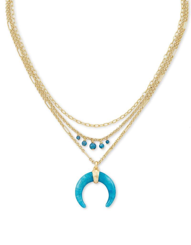 KENDRA SCOTT Gemma Triple Strand Necklace