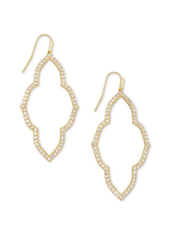 KENDRA SCOTT Abbie Open Frame Earrings