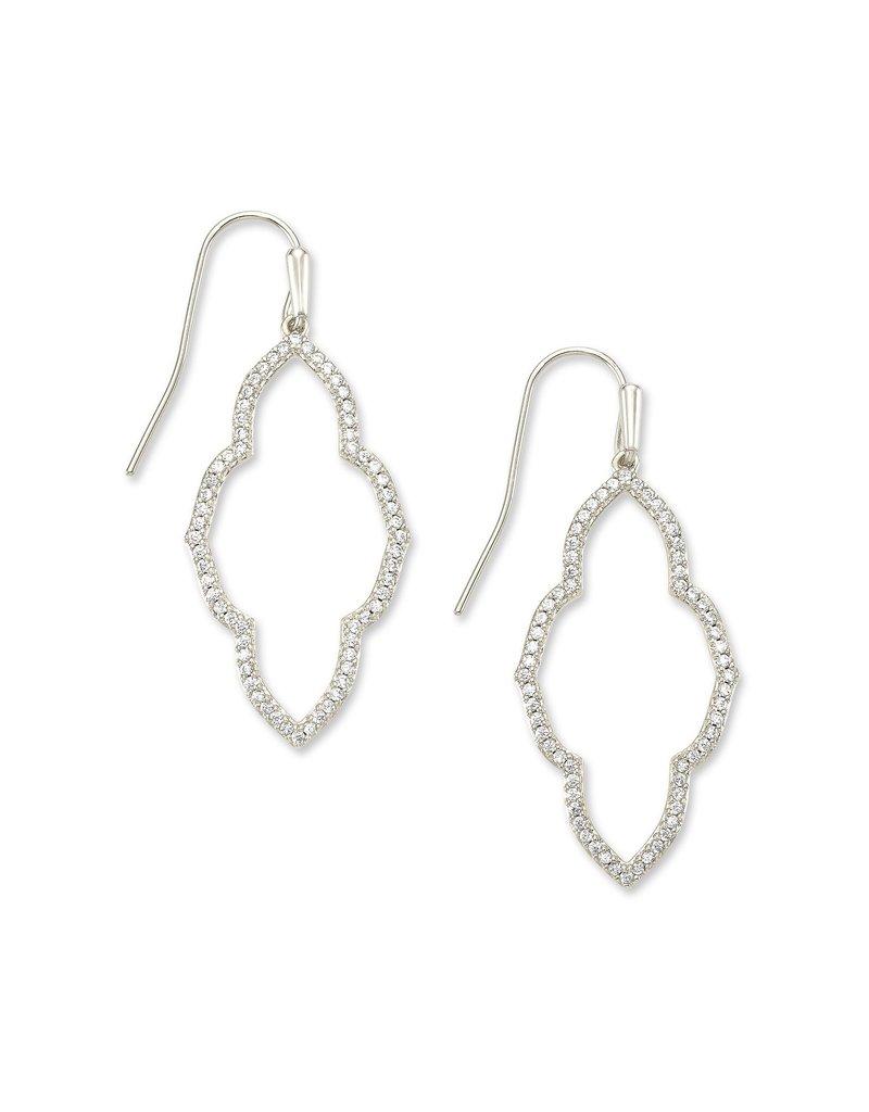KENDRA SCOTT Abbie Small Open Frame Earrings