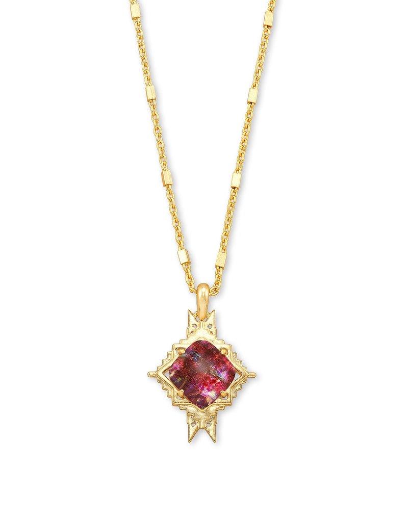 KENDRA SCOTT Cass Long Pendant Necklace