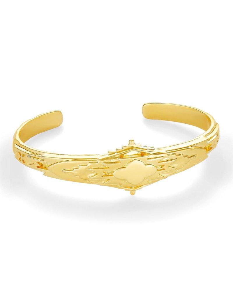 KENDRA SCOTT Shiva Cuff Bracelet