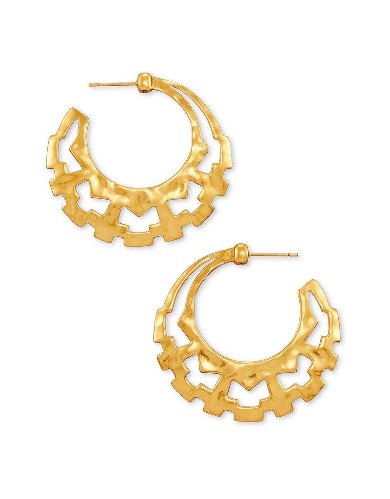 KENDRA SCOTT Shiva Hoop Earrings