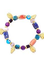 KENDRA SCOTT Beaded Shiva Stretch Bracelet