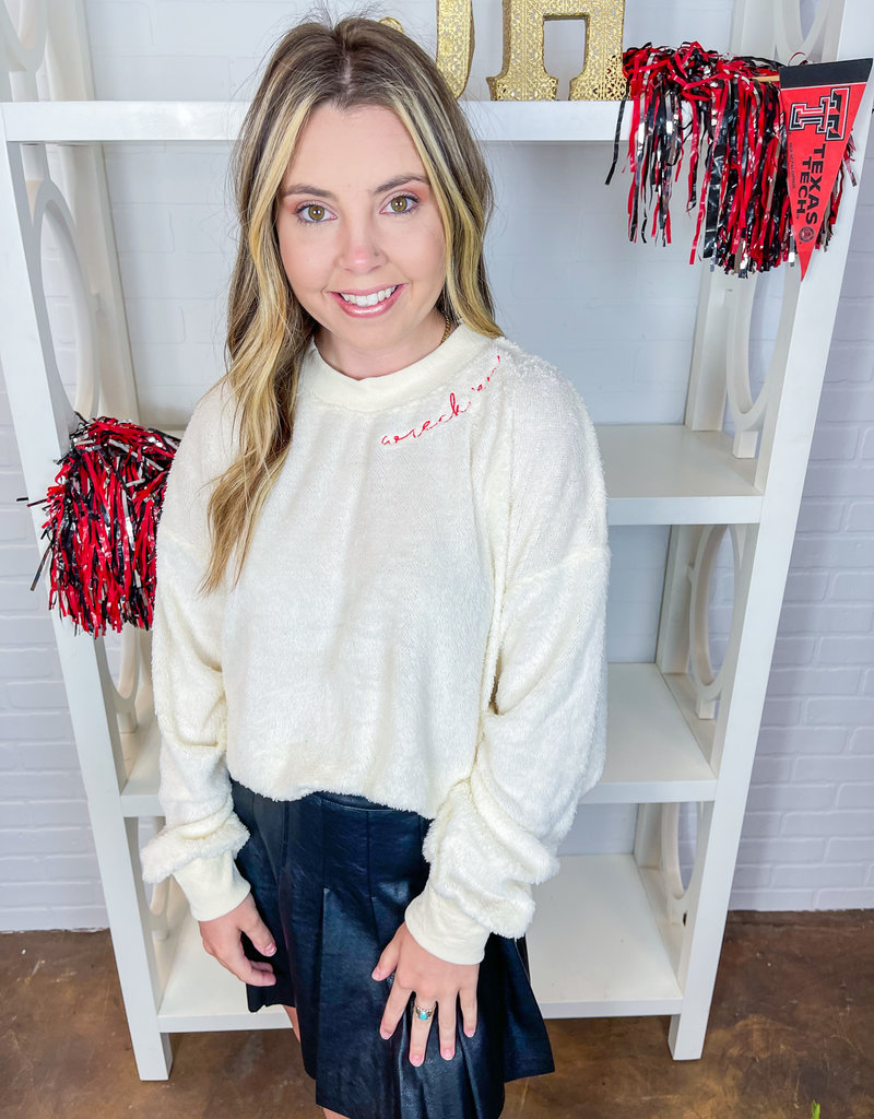 KICKOFF COUTURE Wreck 'Em Legacy Fuzzy Pullover
