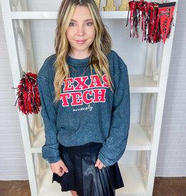 Jhoffmans Texas Tech Black Sandash Sweatshirt