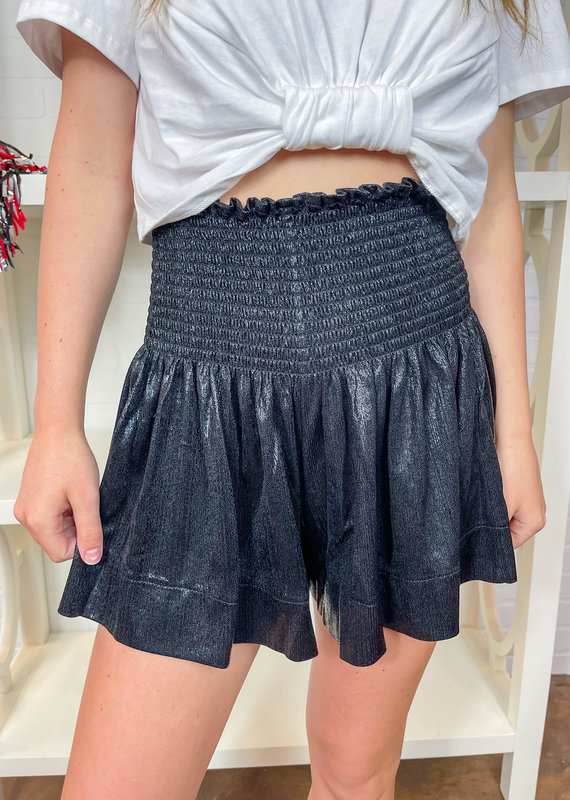 QUEEN OF SPARKLES Pebble Swing Shorts