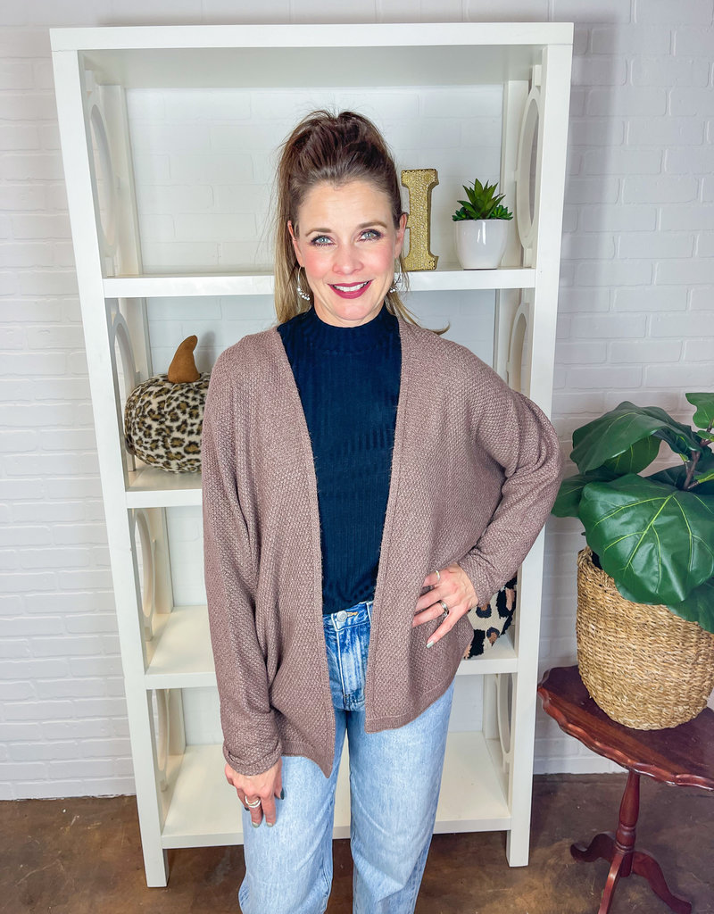 STACCATO Kenzie Open Front Cardigan
