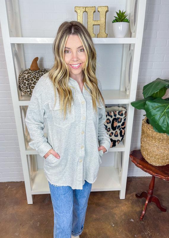 POLAGRAM Heather Shirt Jacket