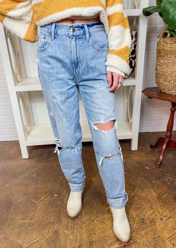 PISTOLA Presley High Rise Vintage 90's Jeans