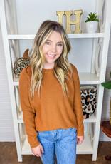 525 AMERICA Emma Shaker Crewneck Sweater