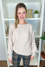 STACCATO Marla Ribbed Boat Neck Sweater