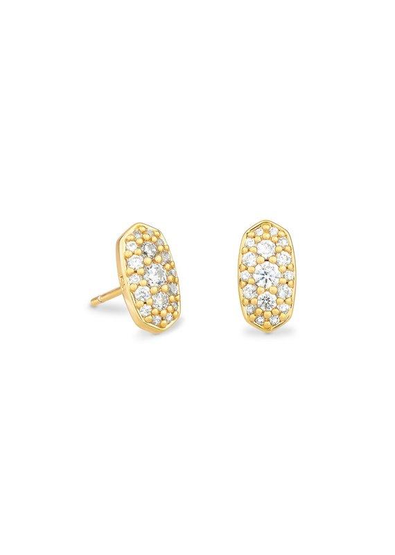 KENDRA SCOTT Grayson Crystal Stud Earrings