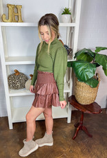 WILD PONY Elisa Ribbed Knit Sweater